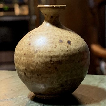 Miniature Art Pottery Weedpot - Pottery
