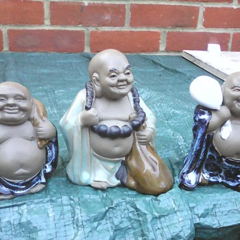 My laughing Buddha's 2 - Asian