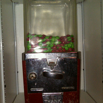 Atlas gumball/candy machine  - Coin Operated
