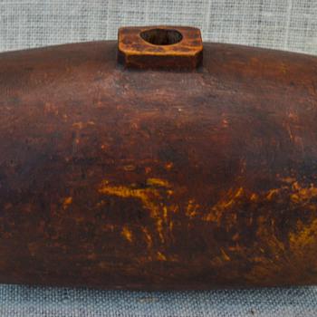 Hollow Wooden Barrel?
