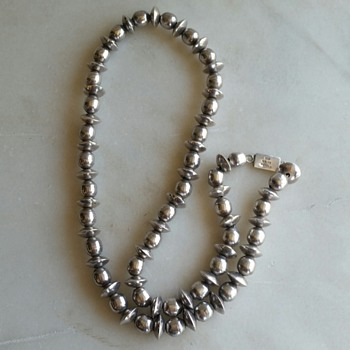 Taxco sterling necklace - Fine Jewelry