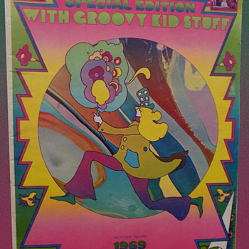 Vintage 1969 J.C. Penney Special Edition Catalog with Peter Max Cover  - Fine Art
