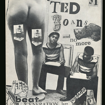 """""""All of Ted Joans and No More"""" Greenwich Village Black Beatnik Poet Signed SC - Books"""