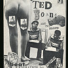 """""""All of Ted Joans and No More"""" Greenwich Village Black Beatnik Poet Signed SC"""