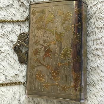 1930's Brass Elephant purse