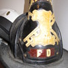 Leather Fireman Helmet