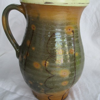 Very old Redwear/Slipware  jug/pitcher lead glaze - Pottery