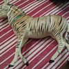 Antique German Candy Container Zebra