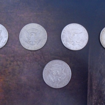 United States of America Half Dollar silver coins. - US Coins
