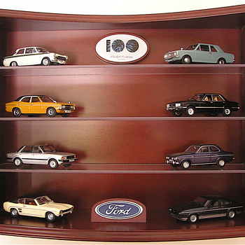 British Fords - Model Cars