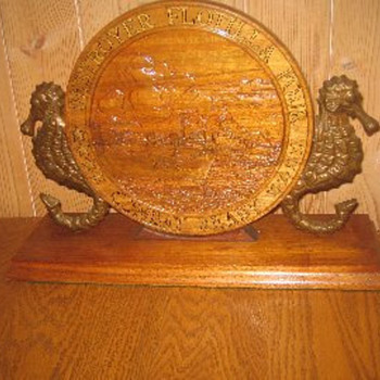 Destroyer Flotilla Four Combat Ready Plaque  - Military and Wartime