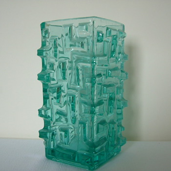 Sklo Union Vase by Jiri Brabec  - Art Glass