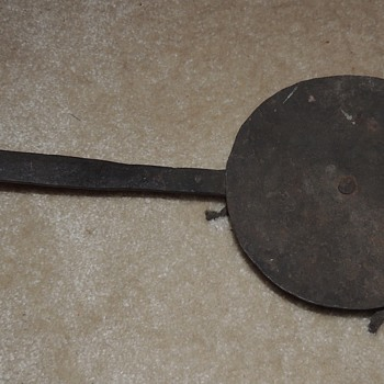 A Rare Forged Rotating Griddle/Warming Tray - 1750-1800 - Kitchen