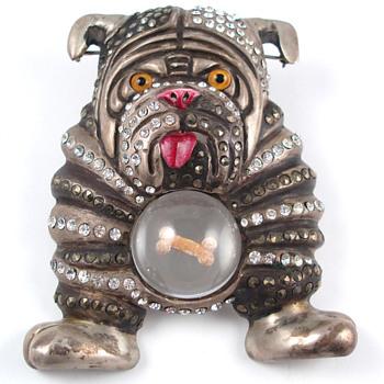 BIG Bulldog !! - Costume Jewelry