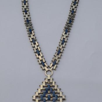 Art Deco 1930's Jakob Bengel Necklace - Art Deco
