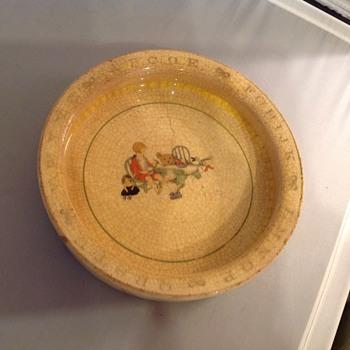 Baby bowl / feeding dish  - China and Dinnerware