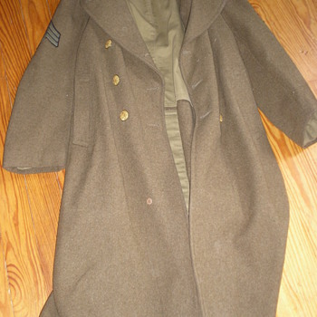 Trench Coat Worn by KIA Soldier - Military and Wartime
