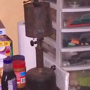 Help me identify this oil lamp - Lamps