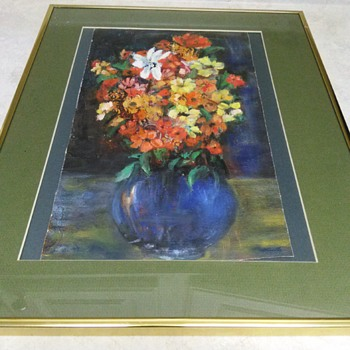 FLORAL STILL OIL PAINTING - Fine Art