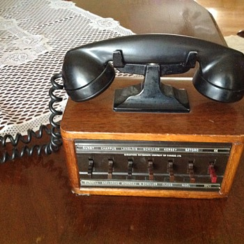 Ford phone from office.  - Telephones
