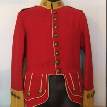 WWI 50th (Gordon Highlanders of Canada) Full Dress Doublet  - Military and Wartime