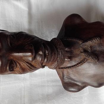 buste d'un africain - Fine Art