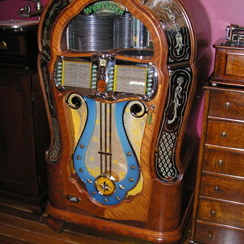 Wurlitzer 1080A 1947 Jukebox - Coin Operated