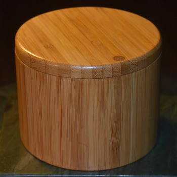 Fine Bamboo Box with Sliding Cover - Furniture