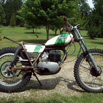 Vintage Ossa Trials Bike - Motorcycles