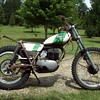 Vintage Ossa Trials Bike