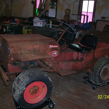 1968 Roof Palomino  Mini Jeep Mower - Tractors