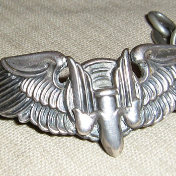 Korean War Air Force wings  - Military and Wartime