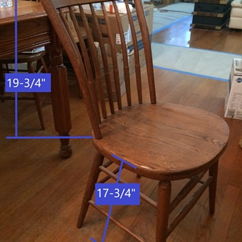 S. Bent and Brothers Chair-mystery chair model - Furniture