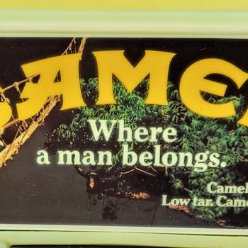 1981 Camel Clock & Light and Sad Story - Advertising