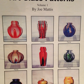Standardizing Czech Art Glass Patterns Vol 1 by Joe Mattis - Art Glass