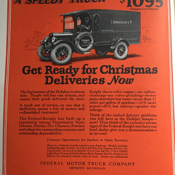 The Saturday Evening Post advertising 1925.