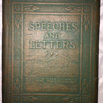 Speeches and Letters George Washington. - Books