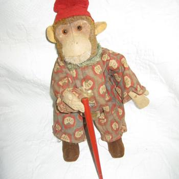 Mysterious Clockwork Clown Monkey  - Toys