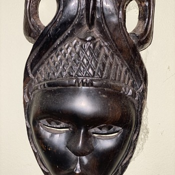 African Mask - Fine Art