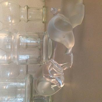 lucienne Bloch  Leerdam GLASS  - Art Glass
