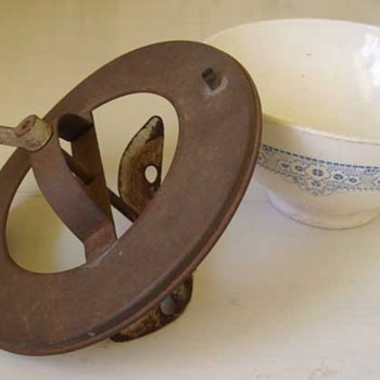 Unusual Mixing Bowl? Butter Maker? - Kitchen