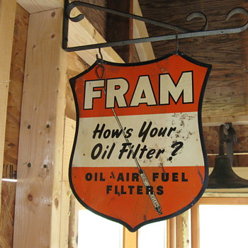 WOW! what a Fram sign!