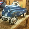 ALL ORIGINAL MURRAY PONTIAC COUPE PEDAL CAR