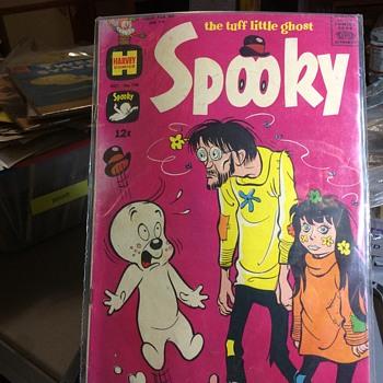 I am afraid, of what I am Seeing  - Comic Books