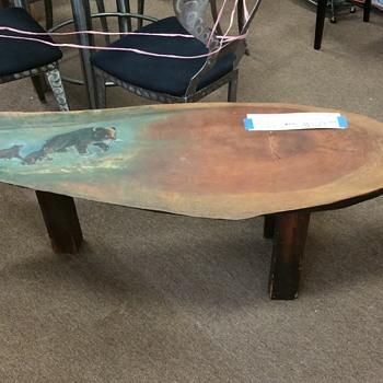 Log bench  - Furniture