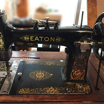 "The T. EATON Co. Limited, Winnipeg EATON ""Empire"" Treadle Sewing Machine"