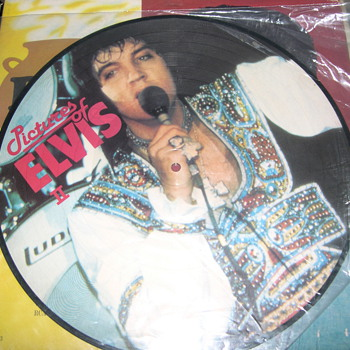 "ELVIS PRESLEY PICTURES OF ELVIS PART 2 ""PICTURE DISC"""