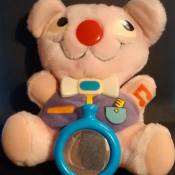 Matchbox soft activity bear 1986