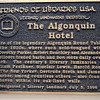 The Algonquin Round Table Plaque
