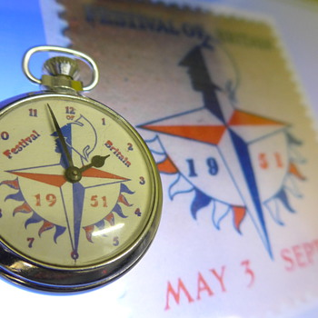 1951 Festival of Britain pocket watch by Smiths - Pocket Watches